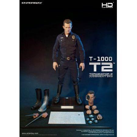 T-1000 Exterminador do Futuro 2  Dia do Julgamento 1:4 - Enterbay