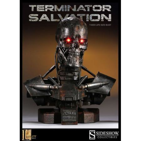 T:600 Terminator Life-Size Bust - Sideshow