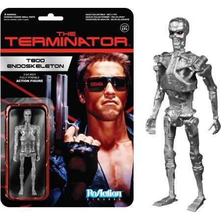 T-800 Endoskeleton The Terminator - ReAtion Figures