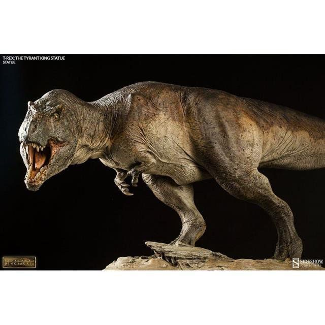 T-rex The Tyrant King Dinosauria Estatua - Sideshow