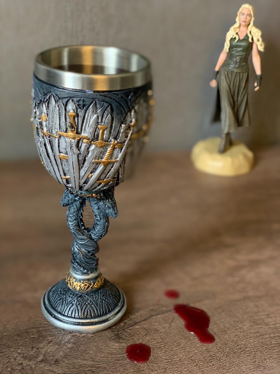 Taça Casa Targaryen: Game Of Thrones
