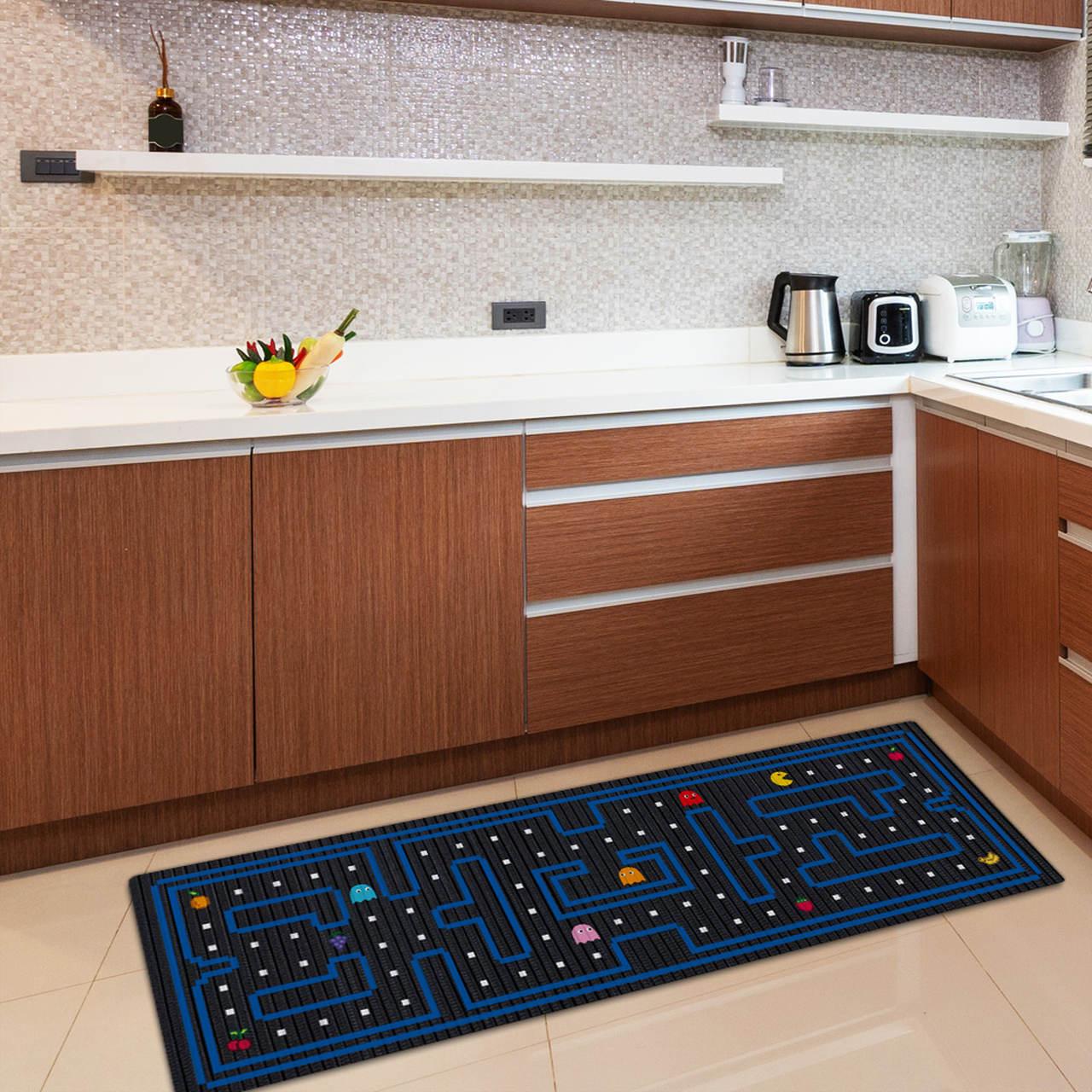 Tapete de Cozinha Pac-Man