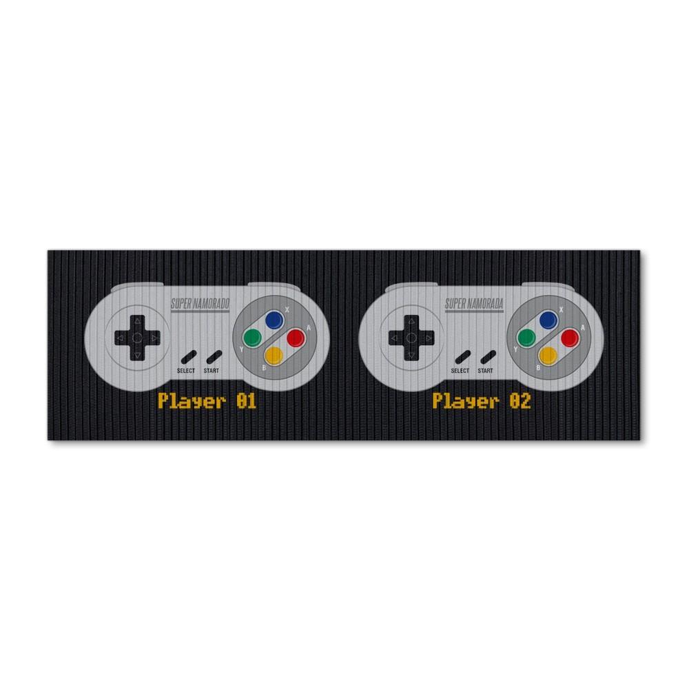 """Tapete de Cozinha """"Players"""": Super Nintendo (SNES)"""