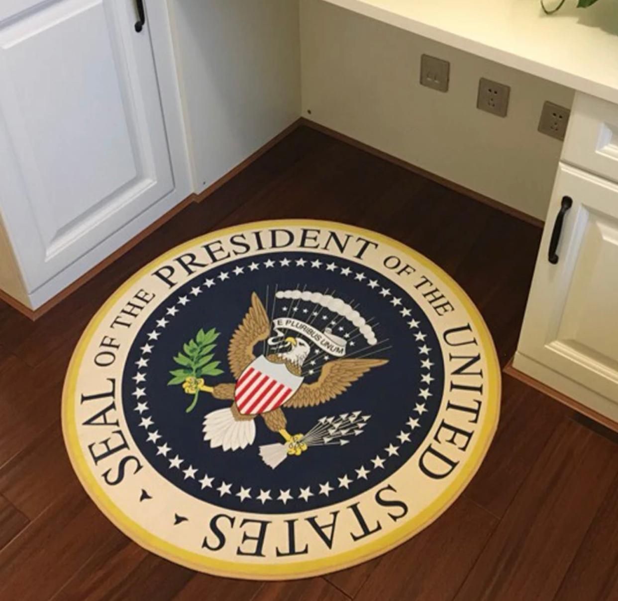Tapete Decorativo Geek Selo do Presidente dos Estados Unidos Seal Of The President Of The United State 120 cm - EVALI