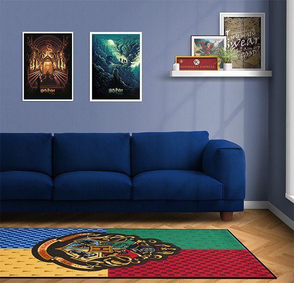 Tapete Hogwarts: Harry Potter - ThinkGeek