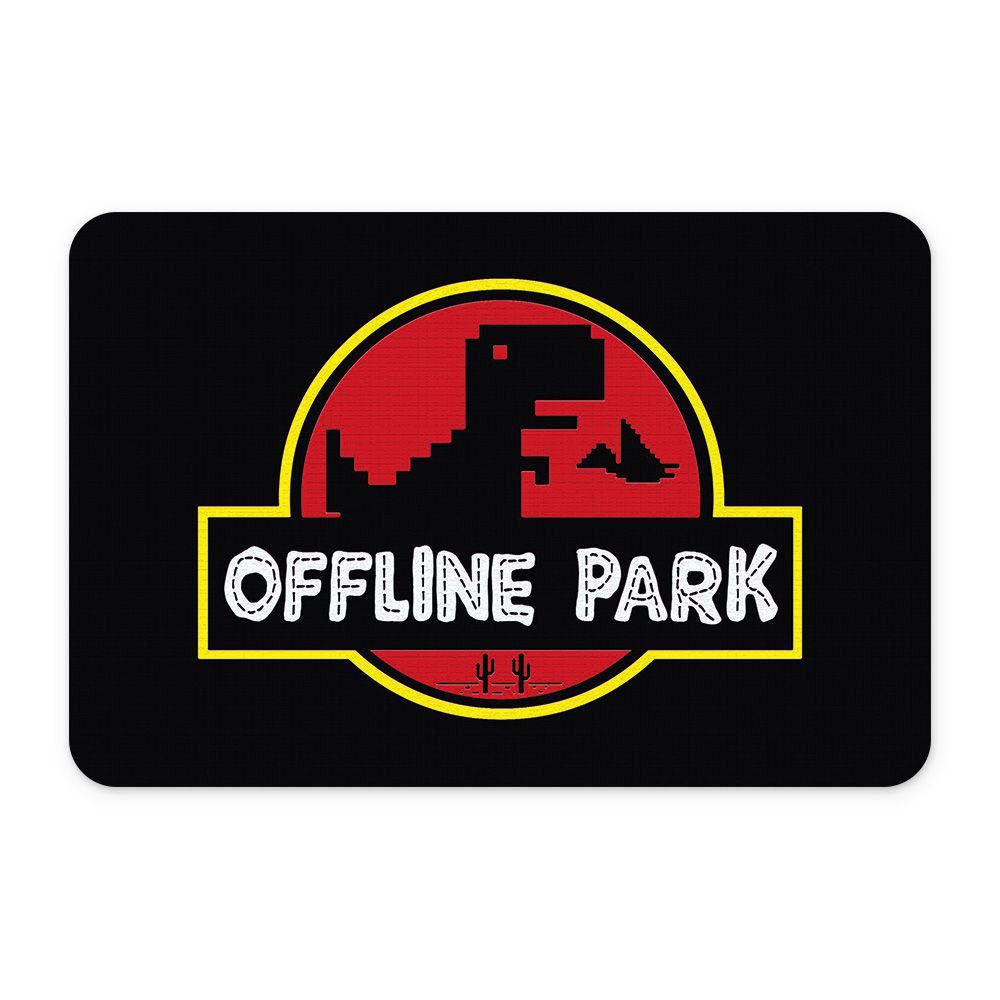 Tapete Para Banheiro Offline Park