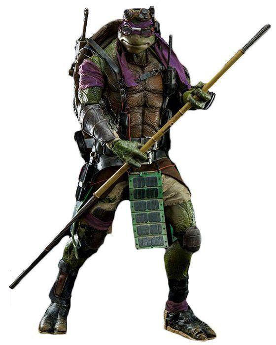 Boneco Donatello: Tartarugas Ninjas (Filme) Escala 1/6 - Threezero
