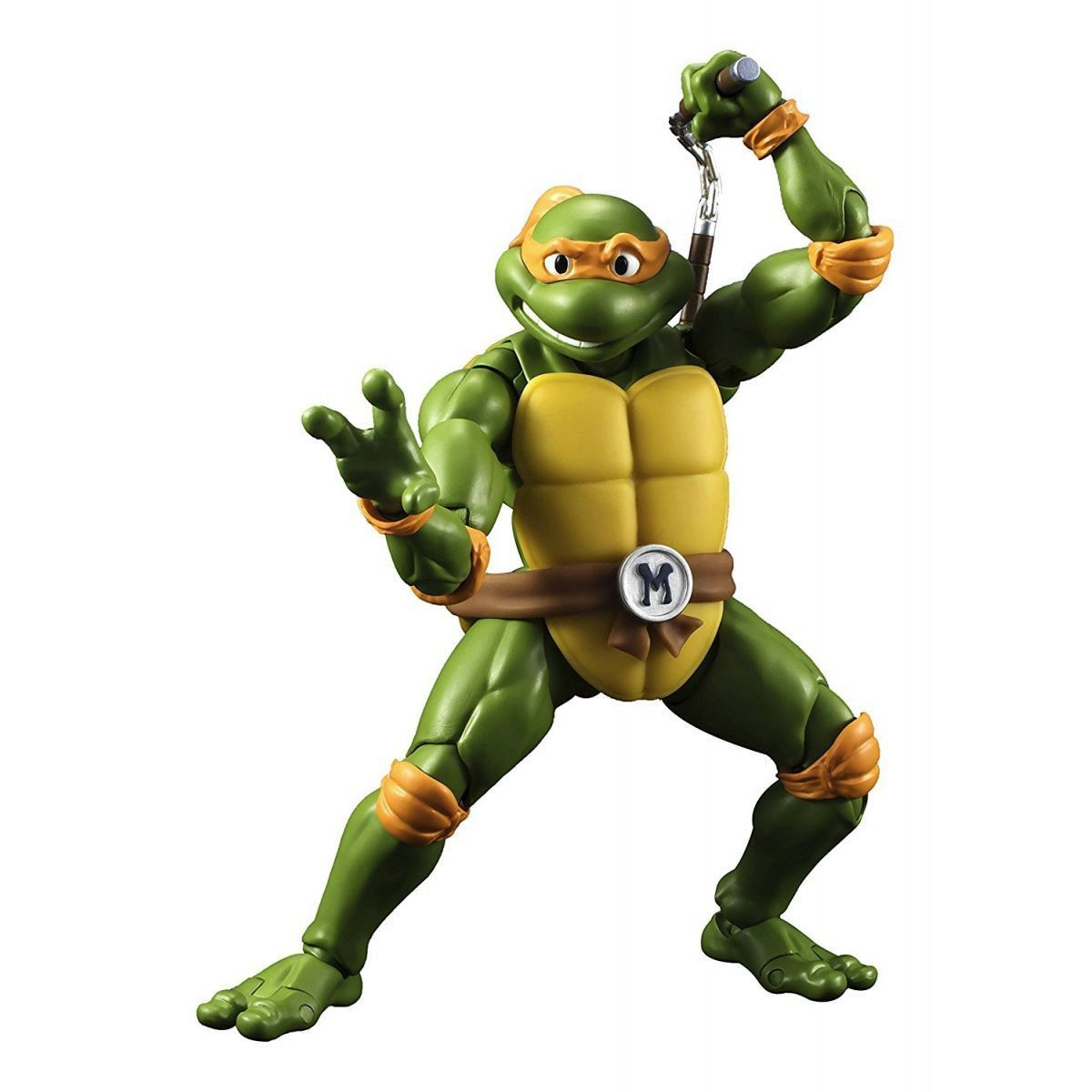 Boneco Michelangelo: Tartarugas Ninjas S.H Figuarts - Bandai