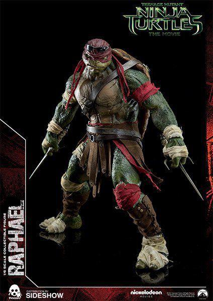 Boneco Raphael: Tartarugas Ninjas (Filme) Escala 1/6 - ThreeA