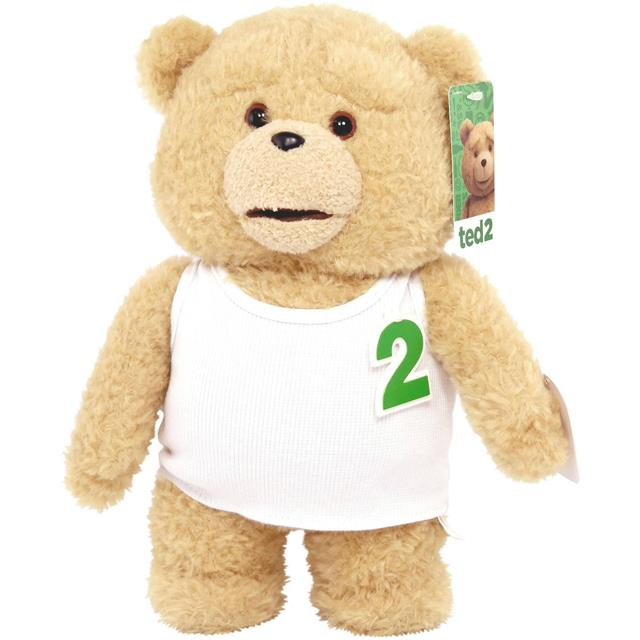 TED 2 The Movie Pelúcia Falante Regata Branca - Commonwealth