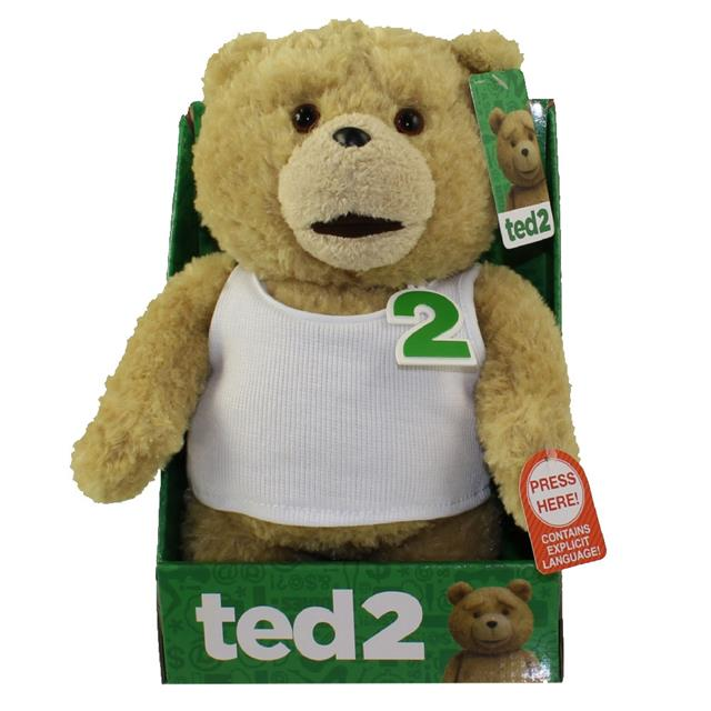 TED 2 The Movie Pelúcia Falante Regata Branca - Commonwealth