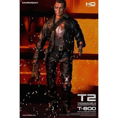 Terminator 2: T-800 Battle Damaged HD Masterpiece 1:4 - Enterbay