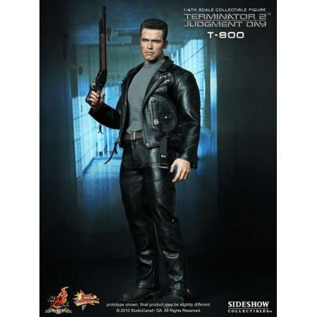 Terminator 2 T 800 Judgment Day 1:6 - Hot Toys
