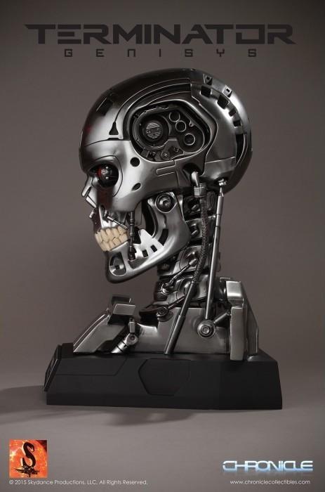 Terminator Genesys Réplicas Endoskeleton Skull 1/1 - Toynami - CD