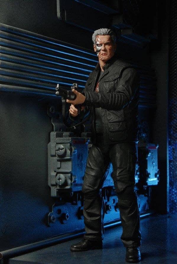 Boneco Guardian T-800: Terminator Genisys - Neca