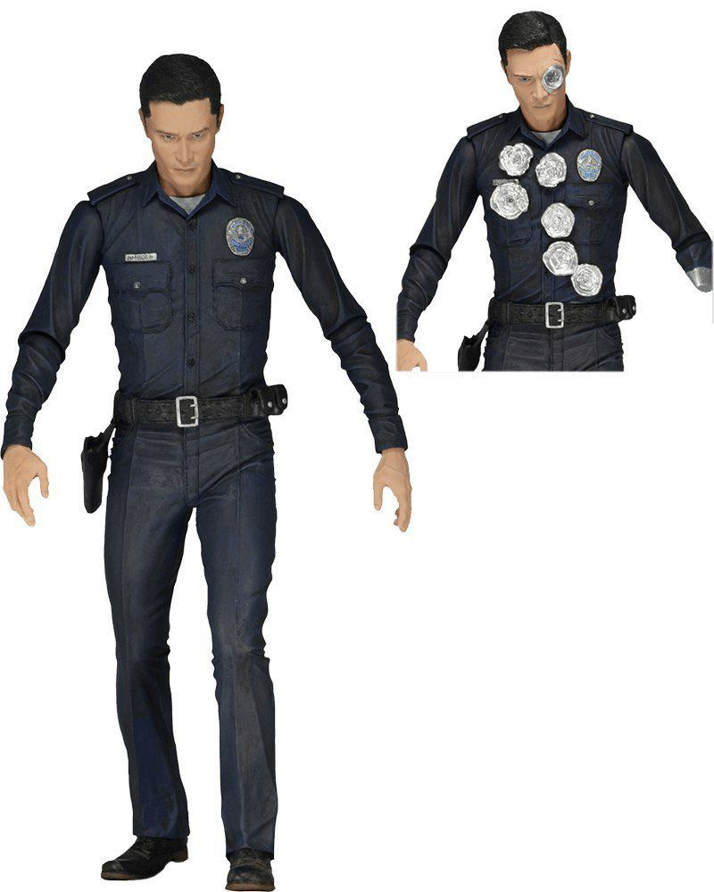 Boneco T-1000: O Exterminador do Futuro: Gênesis Series 1 Escala 1/10 - Neca - CD