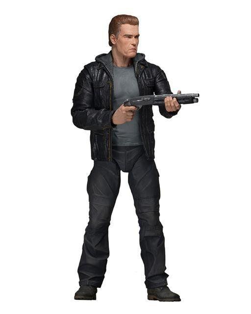 Boneco Guardian T-800: O Exterminador do Futuro: Gênesis Series 1 Escala 1/10 - Neca
