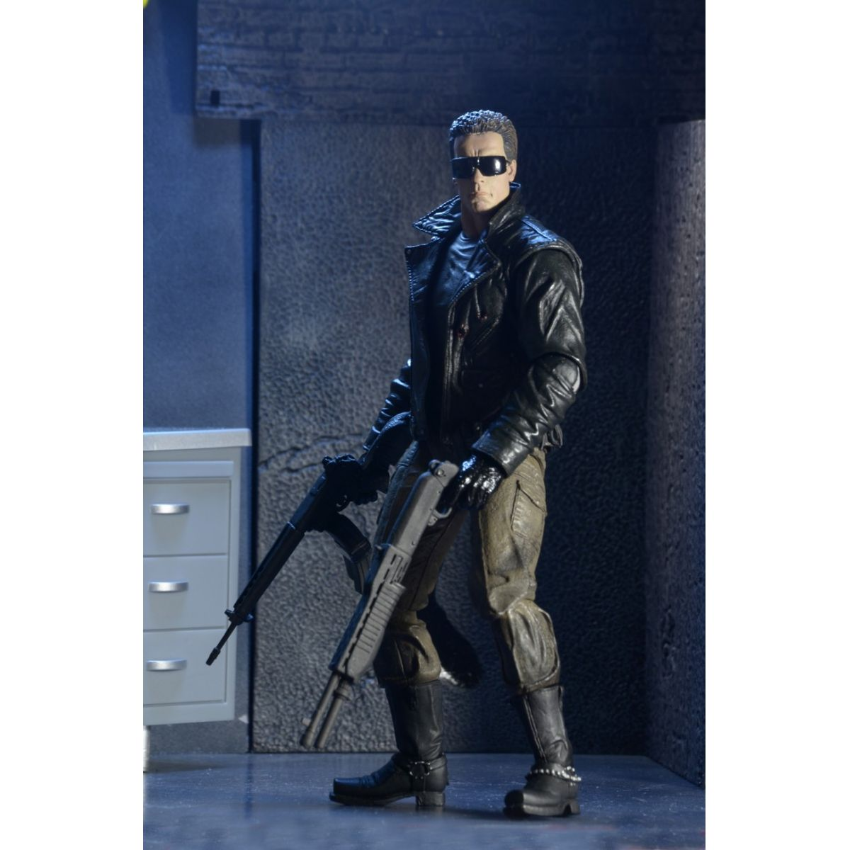Exterminador do Futuro: Ultimate T-800 (Police Station Assault) - Neca