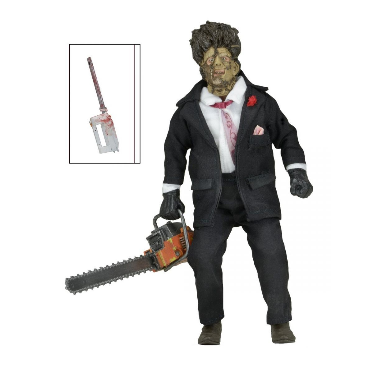 Texas Chainsaw Massacre 2 Clothed Figure Leatherface - Neca