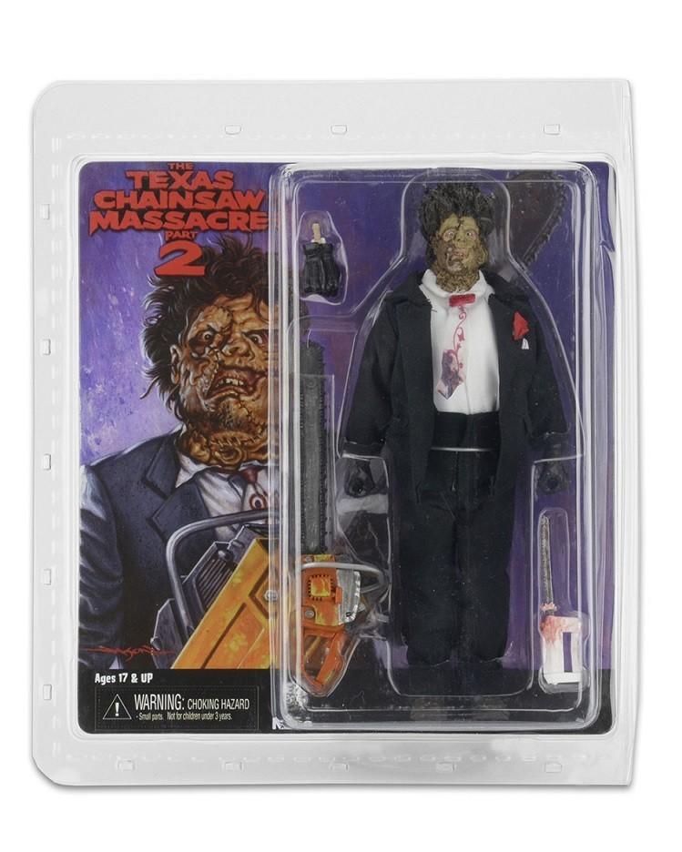 Texas Chainsaw Massacre 2 Clothed Figure Leatherface - Neca