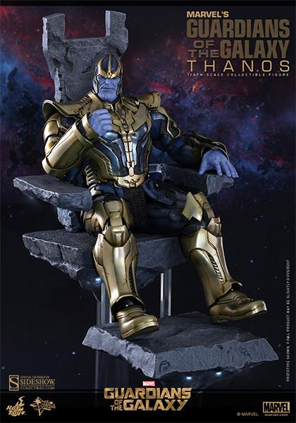 Action Figure Thanos: Guardiões da Galaxia (Guardians of the Galaxy) Escala 1/6 (MMS280) - Hot Toys (PEÇA EXPOSTA)