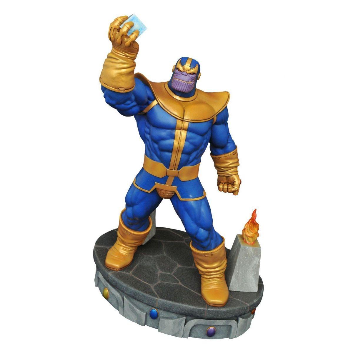 Estátua Thanos - Marvel Premier Collection Estatua Escala 1/6 - Diamond Select
