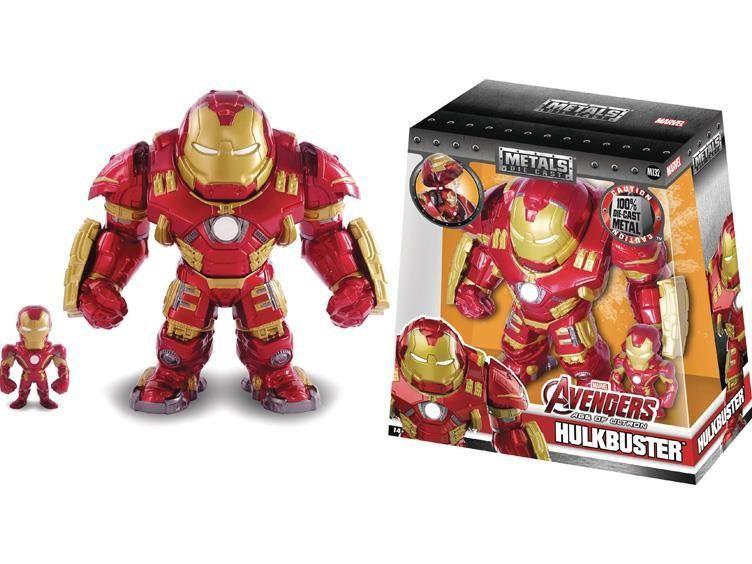 Boneco Hulkbuster Iron Man ( Homem de Ferro ) Metal Die Cast - Jada Toys