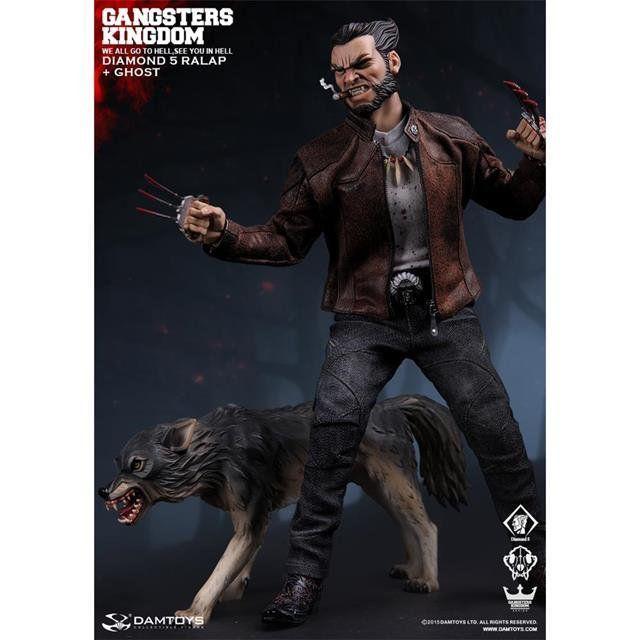 The Gangsters Kingdom Diamond 5 Ralap & The Wolf: Wolverine Logan - Dam Toys