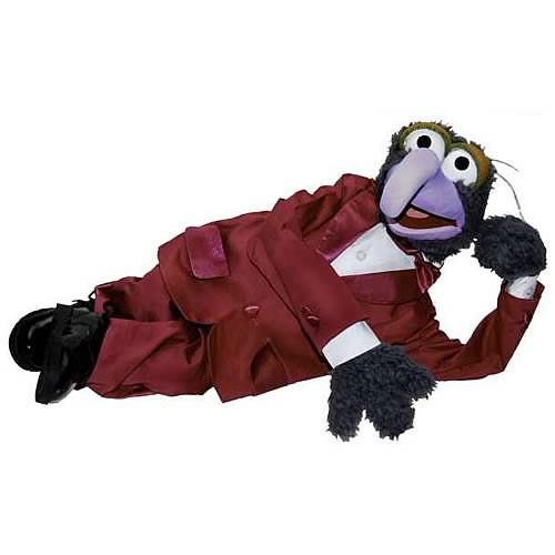 Réplica o Grande Gonzo (The Great Gonzo): Os Muppets (The Muppets Puppet) - Master Replica