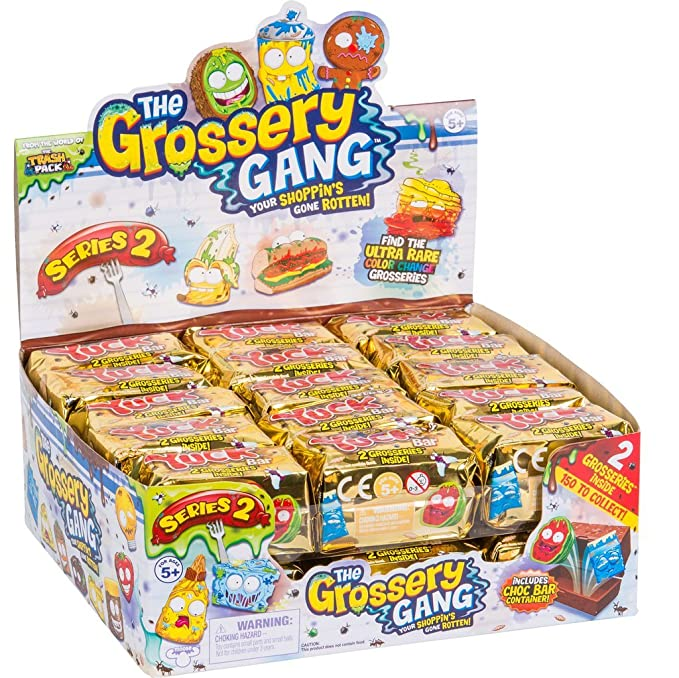 The Grossery Gang: ''Suas Compras Apodreceram!'' Serie 2 Figura Sortida - DTC