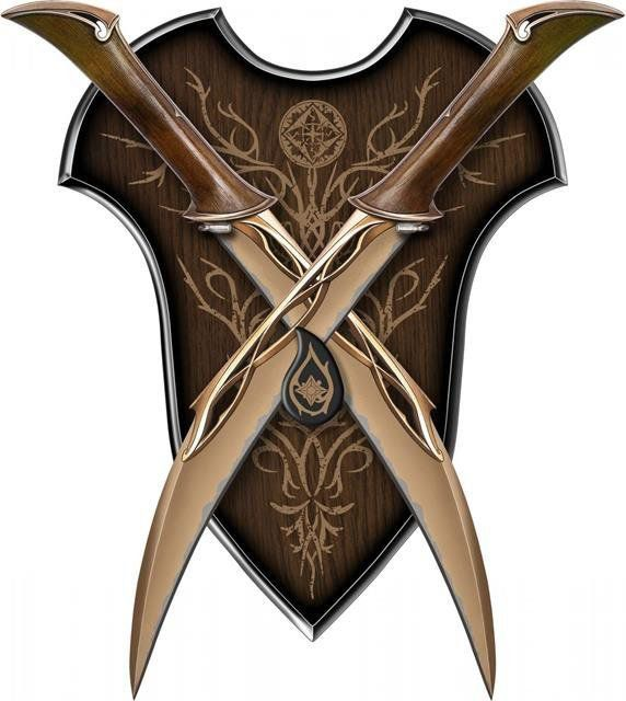 The Hobbit Fighting Knives Of Tauriel - United Cutlery (Produto Exposto)