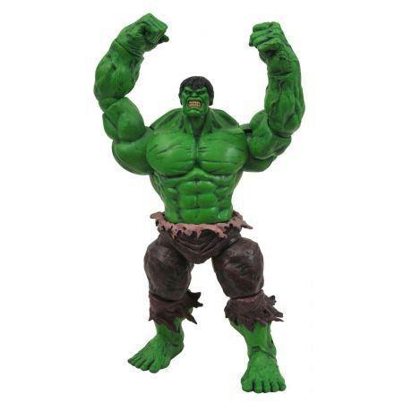 Boneco Hulk (O Incrível Hulk): Marvel Select - Diamond Select