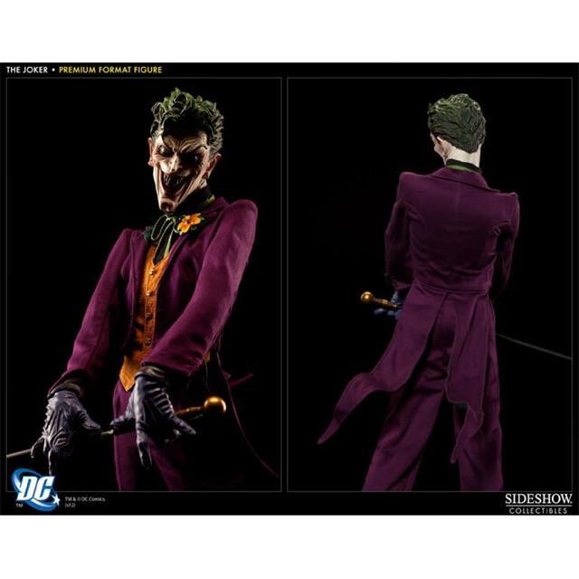 Estátua Coringa (Joker): DC Comics Collectibles (Premium Format) - Sideshow