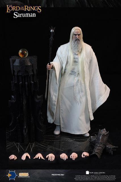 Boneco Saruman 1/6: O Senhor Dos Anéis (The Lord Of The Rings) - Asmus Toys (Apenas Venda Online)