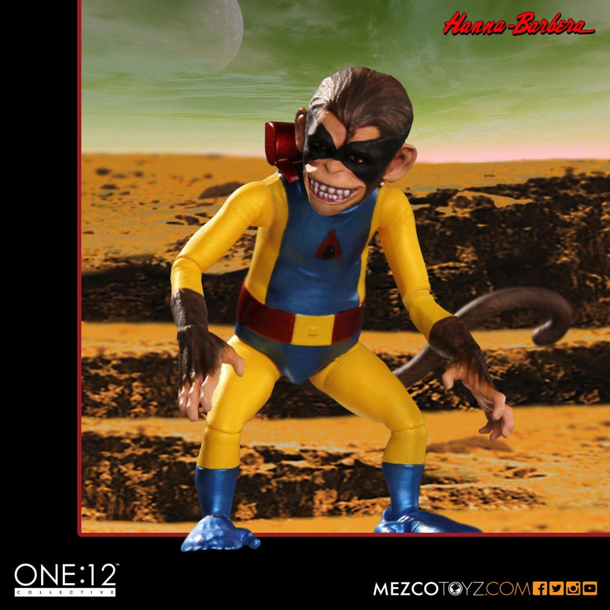 Boneco Space Ghost: The One:12 Collective Escala 1/12 - Mezco