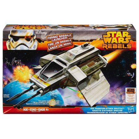 The Phanton Attack Shuttle Star Wars Rebels - Hasbro (Produto Exposto)