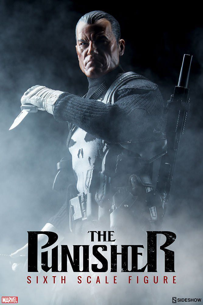 The Punisher Escala 1/6 - Sideshow