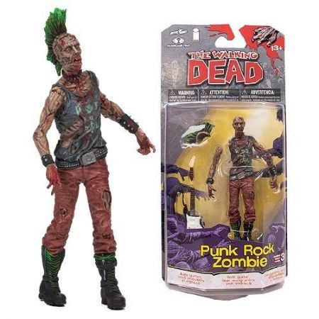 The Walking Dead Comics Series 3 Punk Rock Zombie - McFarlane
