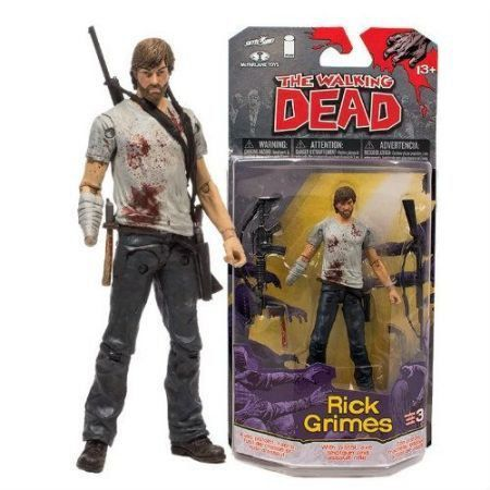 The Walking Dead Comics Series 3 Rick Grimes - McFarlane