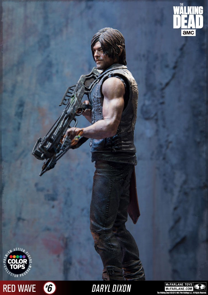 The Walking Dead: Daryl Dixon Red Wave - McFarlane Toys