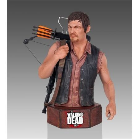 The Walking Dead Daryl Dixon Mini Bust - Gentle Giant
