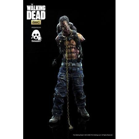 The Walking Dead Michonne's Pet Zombie (Green) 1:6 - ThreeZero