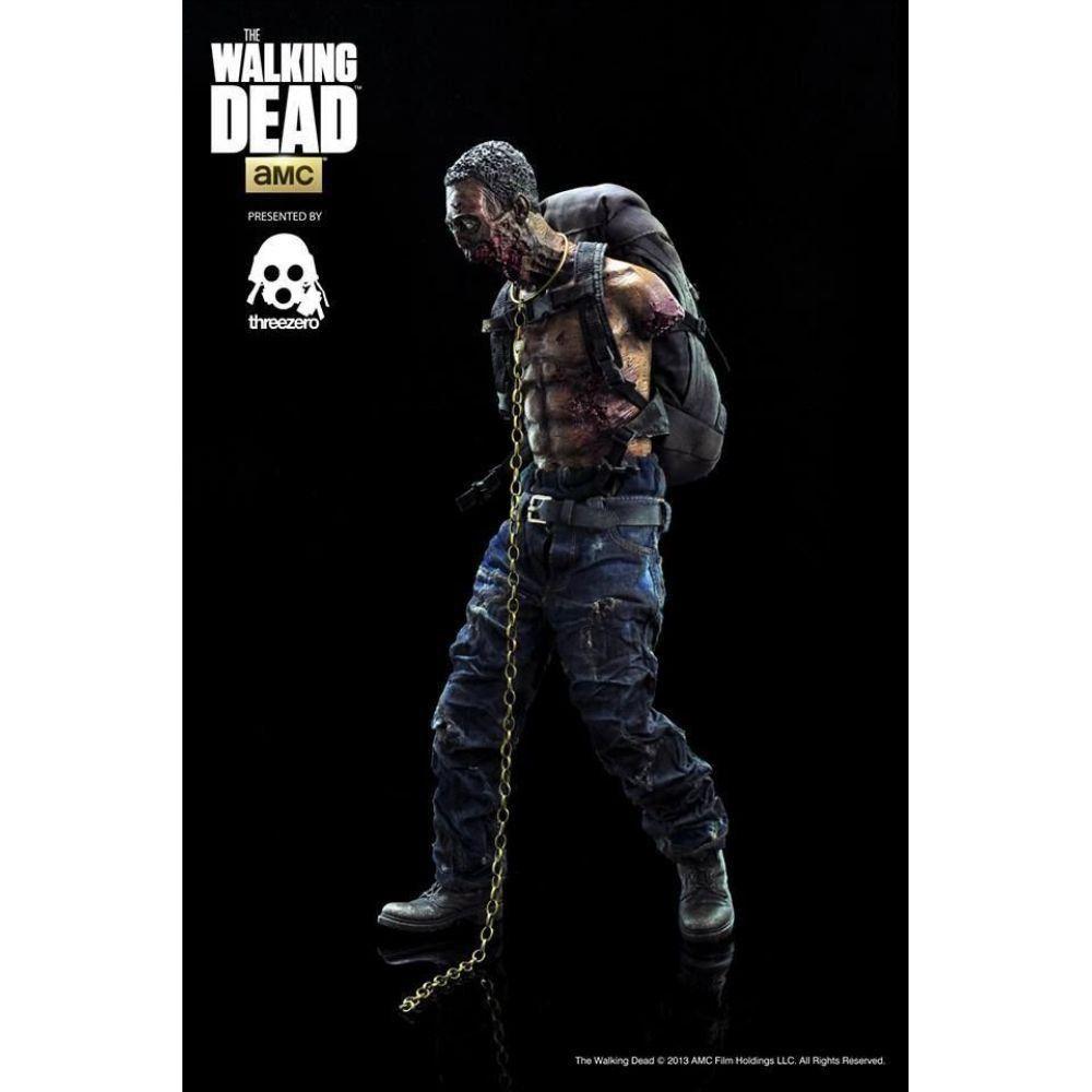 The Walking Dead Michonne's Pet Zombie (Green) 1:6 - ThreeZero