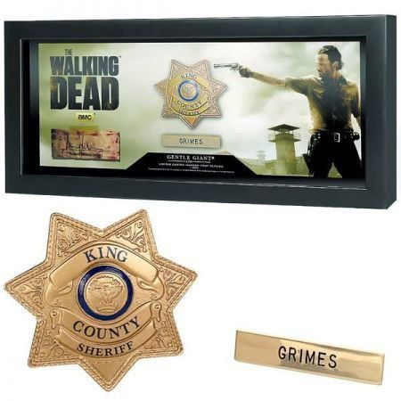 The Walking Dead Prop Replicas Sheriff Grimes Badge - Gentle Giant