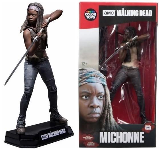 Estátua Michonne: The Walking Dead Color Tops Series Escala 1/10 - Mcfarlane Toys