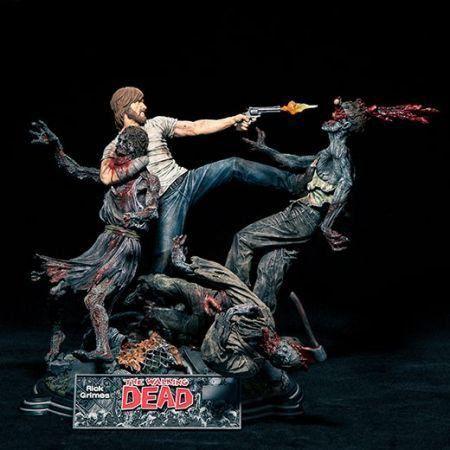 The Walking Dead Rick Grimes Estátua - McFarlane