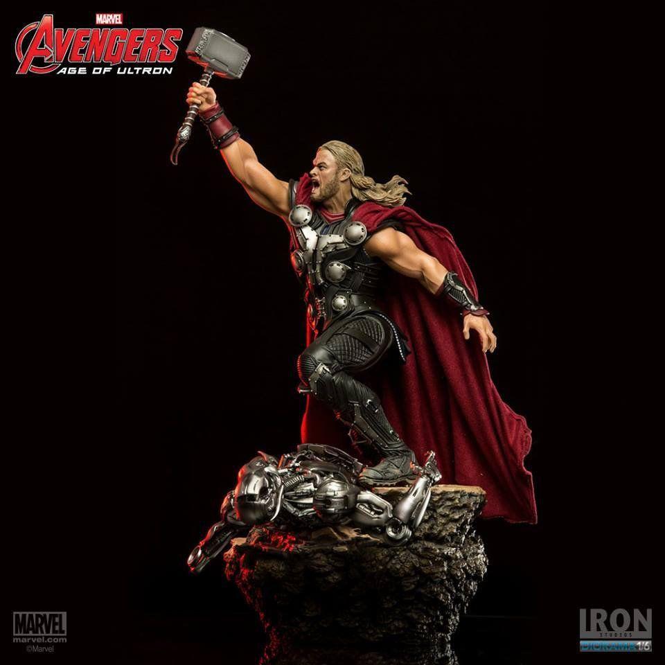 Estátua Thor: Vingadores: Era de Ultron Diorama Escala 1/6 - Iron Studios - CD