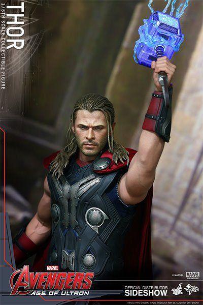 Boneco Thor: Vingadores: Era de Ultron Escala 1/6 - Hot Toys