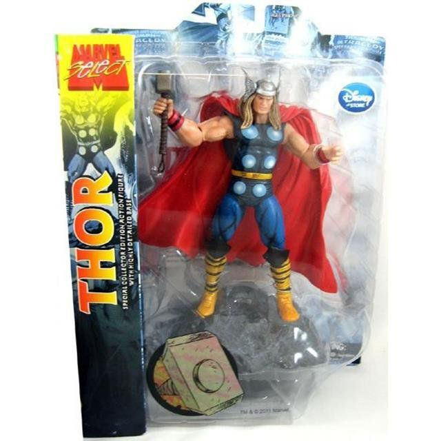 Boneco Thor Clássico: Marvel Select - Diamond Select