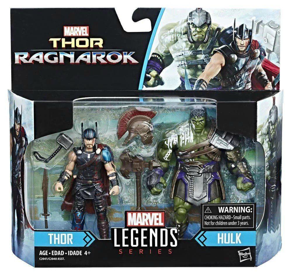 Thor e Hulk Marvel Legends Series: Thor Ragnarok - Hasbro